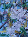 rhododendron blossoms, painting No. 1532