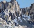 Brenta Dolomits, painting No. 4349